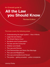 All the Law You Should Know (eBook)